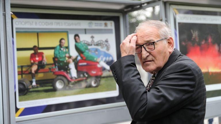 """Димитър Пенев на 75: Горд съм, че имам уважението на """"червени"""" и на """"сини"""""""