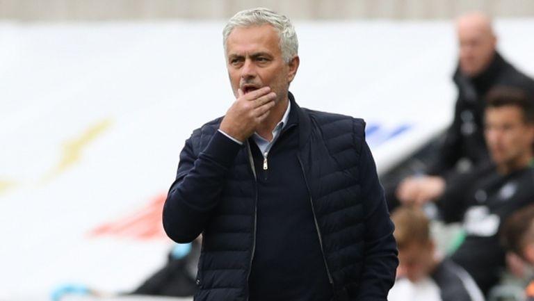 Нивото на Тотнъм е за Шампионската лига, уверен е Жозе Моуриньо