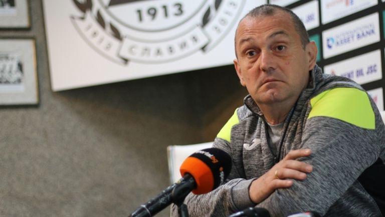 Славия гледа към български играчи