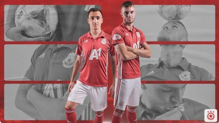 Двама подписаха първи договори с ЦСКА-София