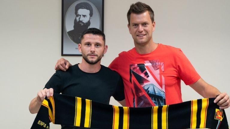 Нов в Ботев (Пд): Пандев ме поздрави за трансфера! Идвам в клуб с традиции