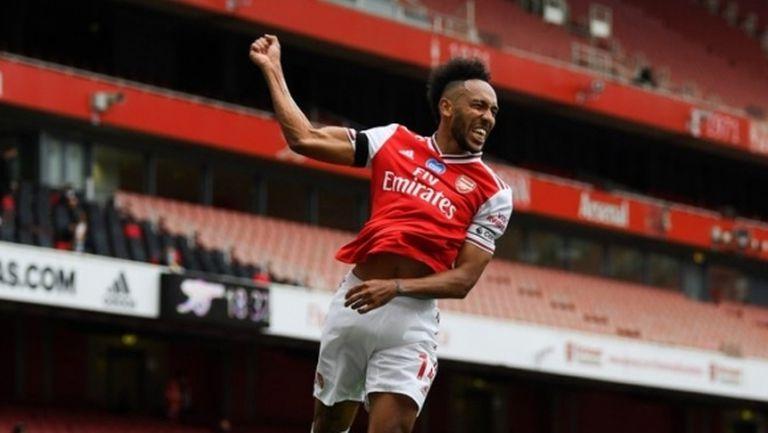 Арсенал задържа Обамеянг срещу 250 хиляди лири на седмица