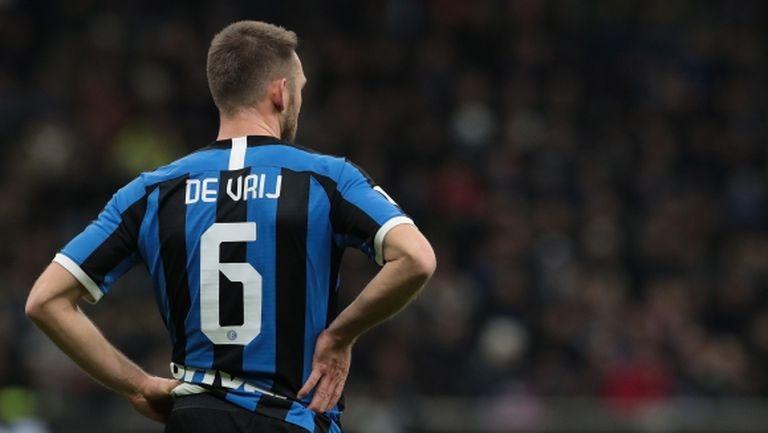 Интер няма да може да разчита на Де Фрай срещу Дженоа