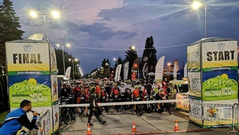 Колоездачният рекорд на Витоша 100 оцеля за 48 секунди