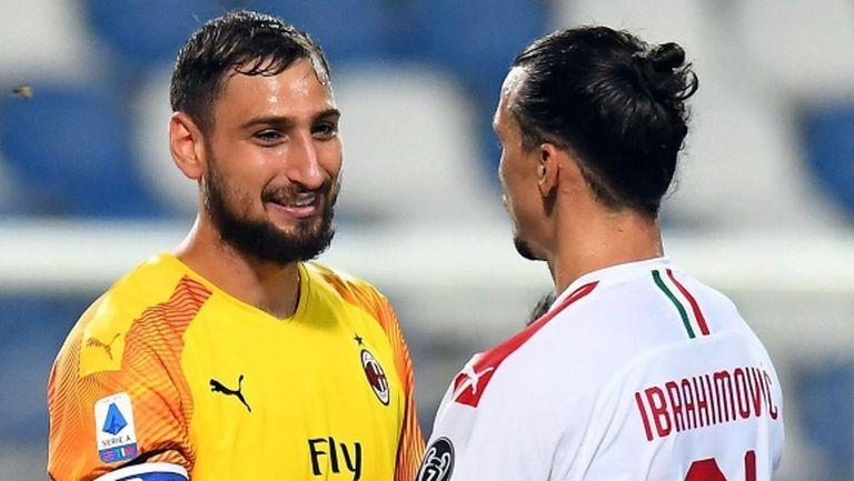 Ибра и Донарума заявили желанието си пред Райола да преподпишат с Милан