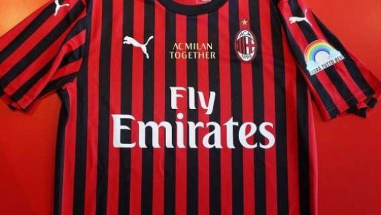 Милан удължи своето сътрудничество с главния си спонсор
