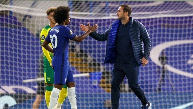 Вилиан може да продължи кариерата си в Челси