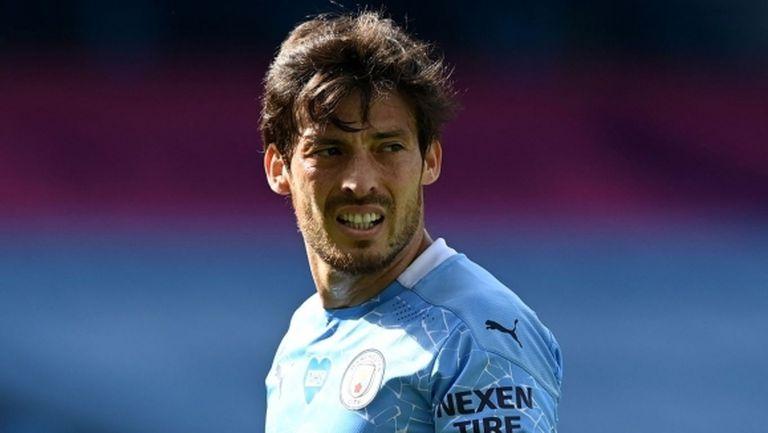 Лацио започна преговори с Давид Силва