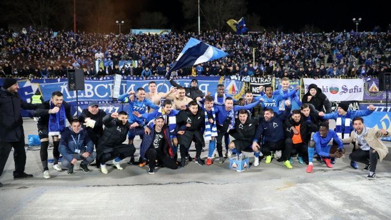 """Кампаниите на """"Синя България"""" събраха огромна сума за Левски"""