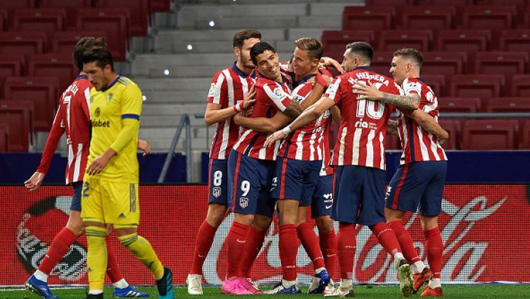Атлетико Мадрид - Кадис 4:0