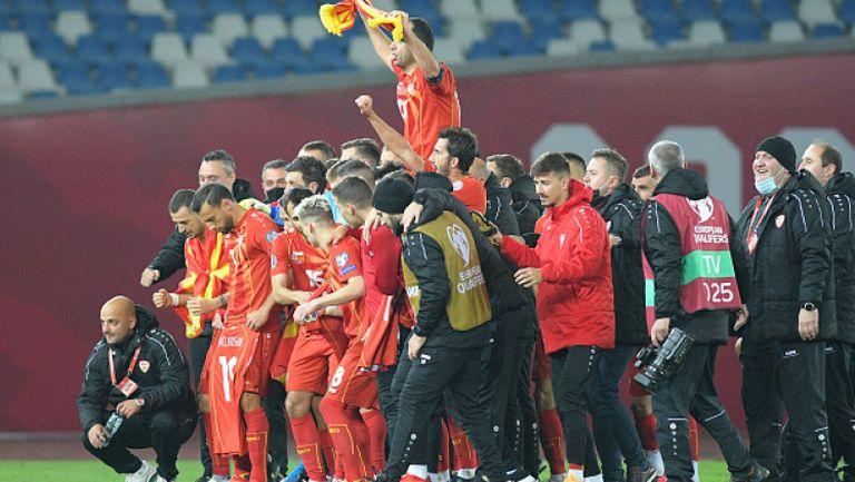 Северна Македония е на Европейското след 0:1 като гост на Грузия