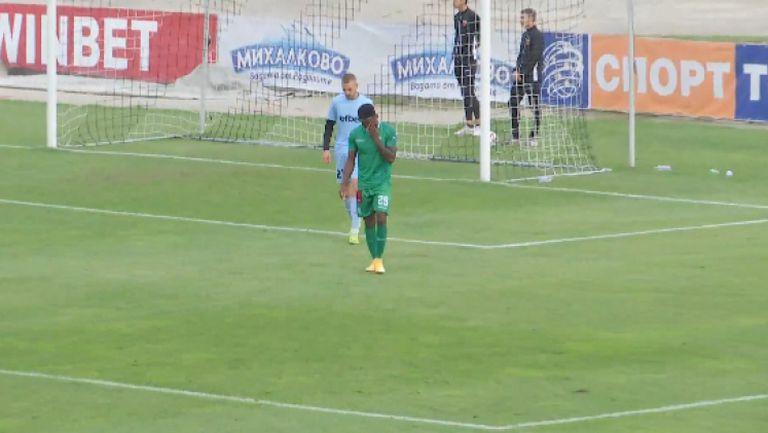 Еривалдо отбеляза трети гол във вратата на Локомотив (Пд)