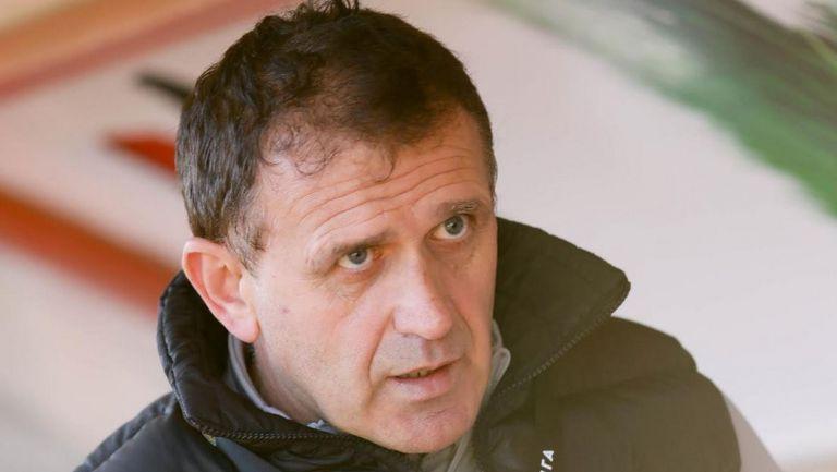 Акрапович преди официалния си дебют за ЦСКА-София