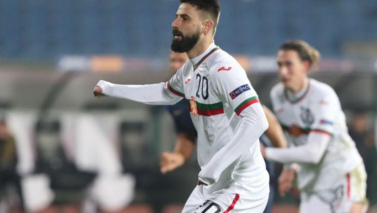 Втора дузпа за България, този път Димитър Илиев върна един гол за нашите