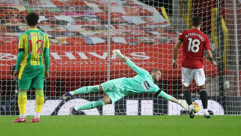 Манчестър Юнайтед - Уест Бромич Албиън 1:0