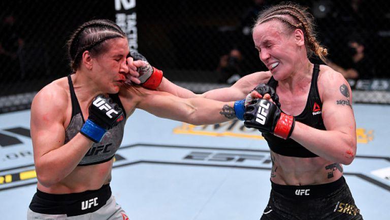 Валентина Шевченко се затрудни, но победи Мая и защити титлата си в UFC