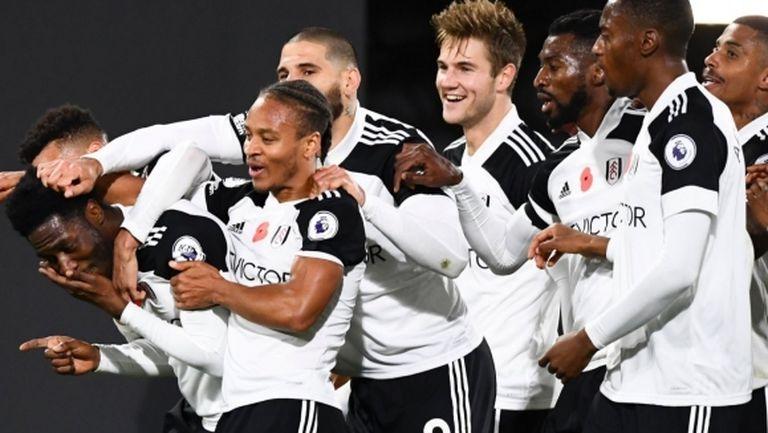 Фулъм с първа победа за сезона във Висшата лига