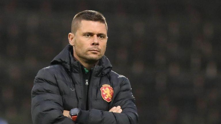 Александър Димитров обяви избраниците си за важната квалификация с Естония