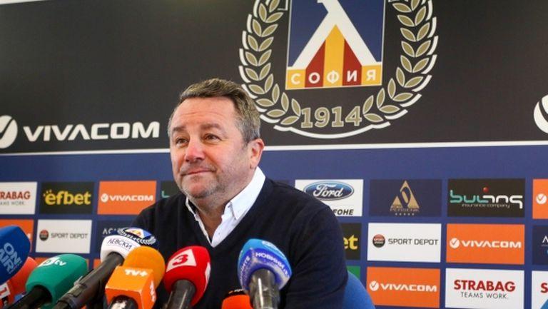 Стоянович ще води Левски срещу Локо (Пловдив), смятат медиите в Словения