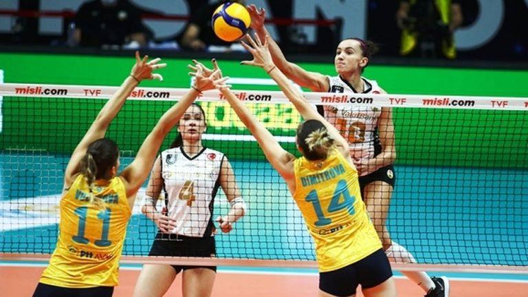 ПТТ с Емилия Димитрова и Христина Вучкова без шансове срещу Вакъфбанк в Турция