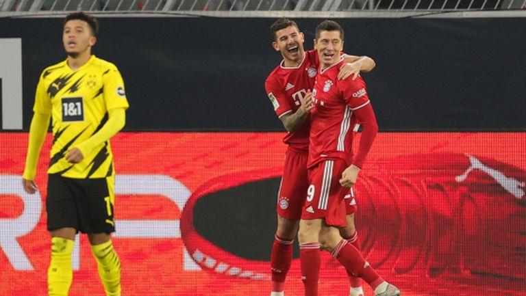 Борусия (Д) игра силно, но Байерн пак грабна победата (видео)