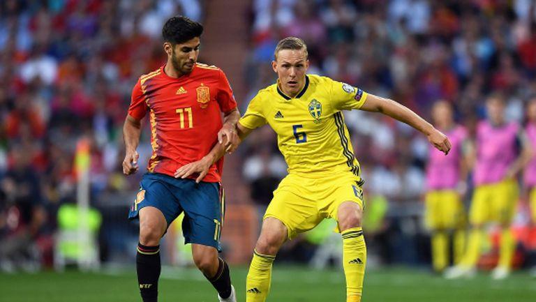 Играч на Реал М замени Ансу Фати в националния тим