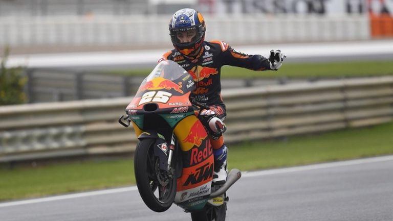 Испанец с първа победа в Moto3