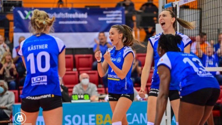 Мира Тодорова и Щутгарт с победа №4 в Германия (видео)
