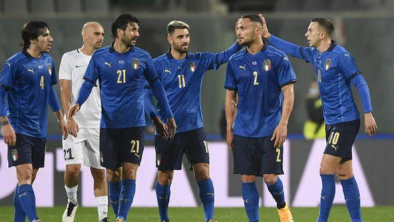 Италия не срещна трудности срещу Естония (видео)