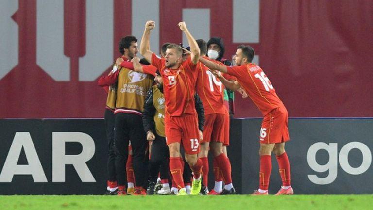 Северна Македония достигна футболния си връх, съседите ще играят на Евро 2020 (видео)
