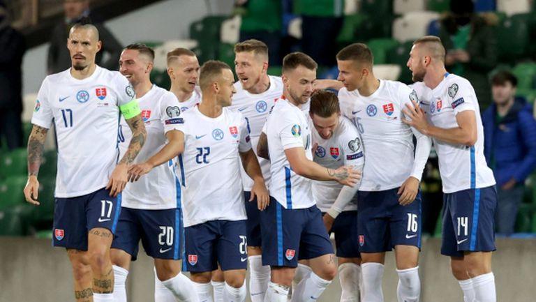 Драма с продължения осигури място Словакия на Евро 2020