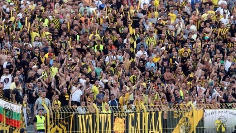 Феновете на Ботев (Пд) минаха границата от 500 000 лева