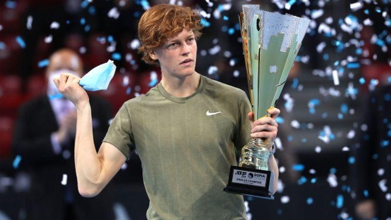Яник Синер е заслуженият шампион на Sofia Open!