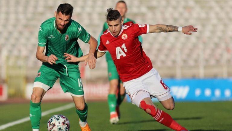 Акрапович стартира начело на ЦСКА-София с погром над аматьори (видео и галерия)