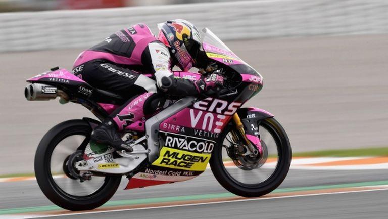 Италианец с първа победа за 2020-та в Moto3