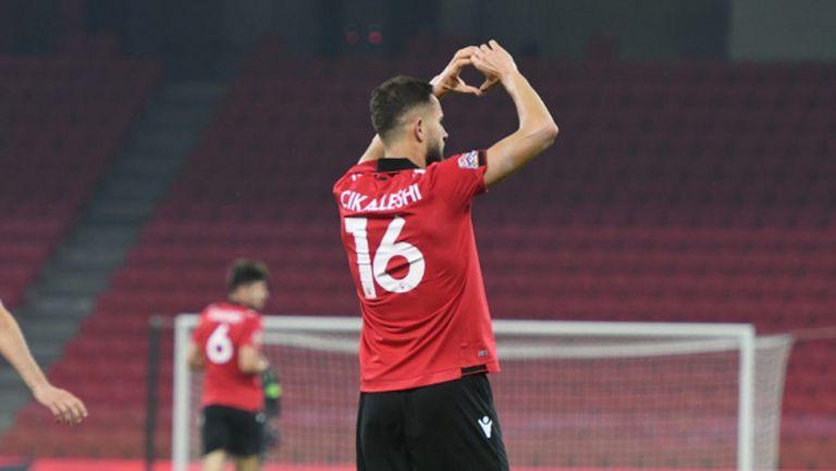 Албания взе важен успех, но допусна куриозен гол