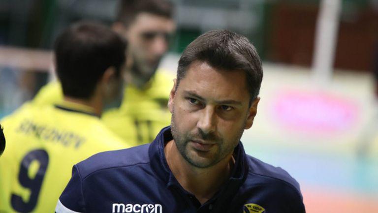 Атанас Петров: Започваме да играем все по-добре