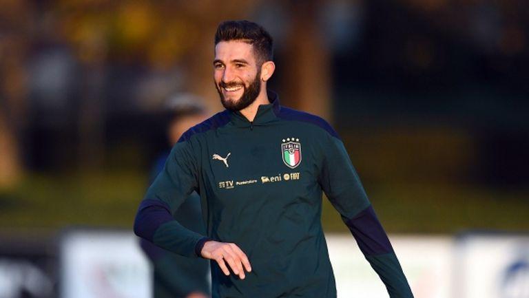Галярдини даде отрицателен тест, завръща се в състава на Италия