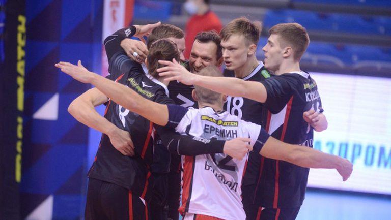 Белогорие нанесе първа загуба на Зенит (Казан) в Суперлигата на Русия (видео + снимки)