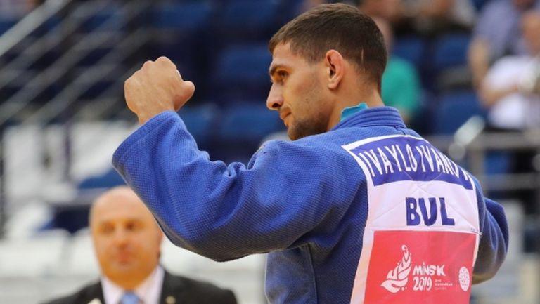 Ивайло Иванов е полуфиналист на Европейското по джудо