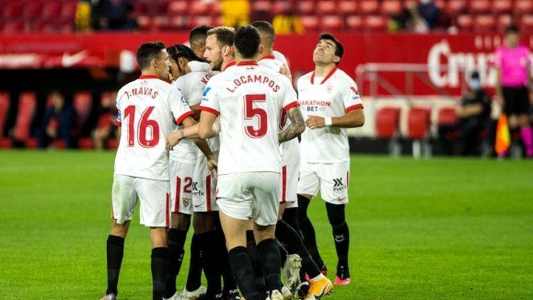 Севиля повали Селта във вълнуващ мач с шест гола (видео)