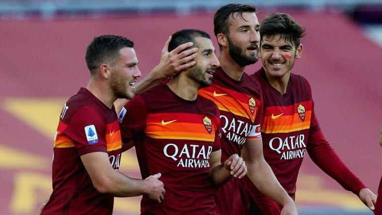 Рома разби Парма за 13 минути (видео)