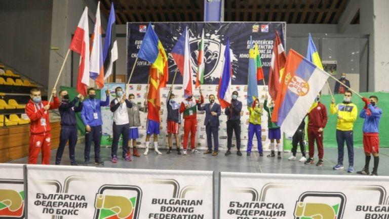 Кристиян Стоянов е полуфиналист на Европейското по бокс