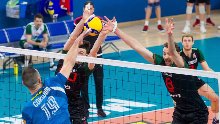 Цецо Соколов с 19 точки, Динамо на финал в Русия след детронация на Локомотив (Новосибирск) на Пламен Константинов🏐