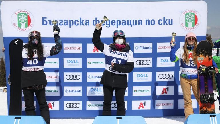 10-а титла за Сани Жекова на сноубордкрос