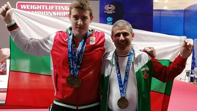 Пореден медал за България от ЕП по щанги - такива успехи не сме имали от 17 години насам