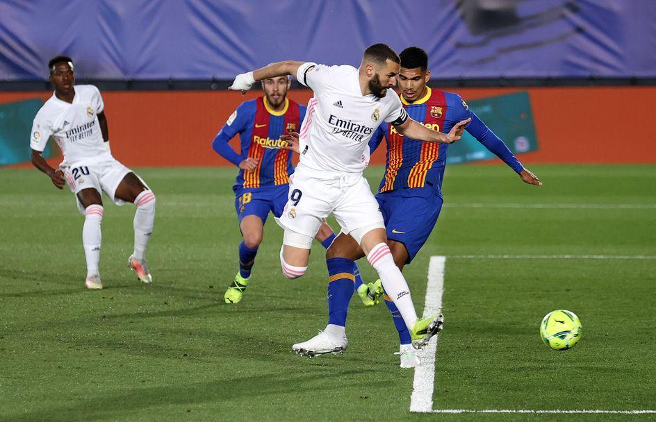 Реал Мадрид - Барселона 2:1