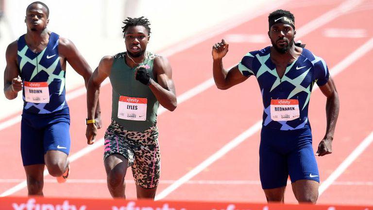 Лайлс и Филикс показаха скорост преди олимпийските квалификации в САЩ