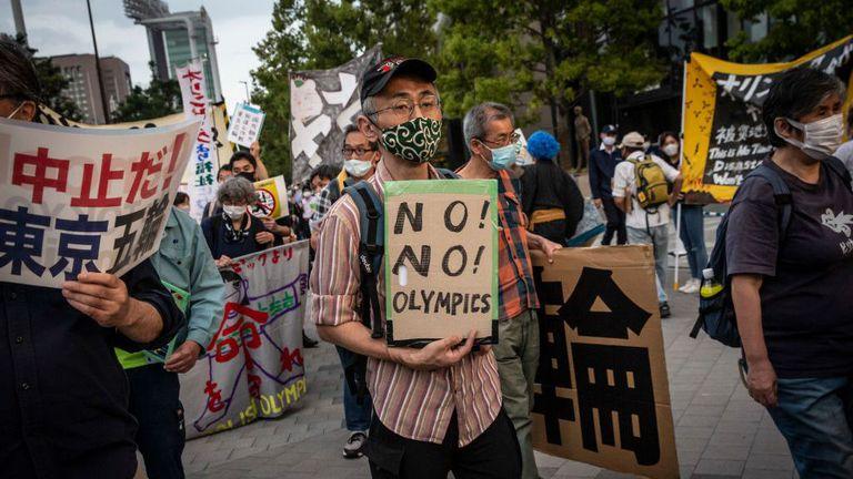 Почти 60 процента от японците искат отмяната на Олимпийските игри в Токио