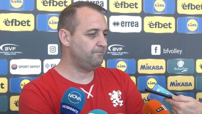 Иван Петков: Целта ни е да се бием с отборите от топ 6
